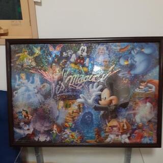 ディズニー1000ピースパズル完成品
