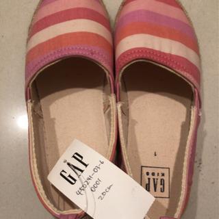 子ども靴GAP20cm【新品未使用品】