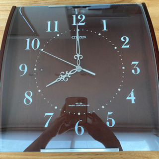 電波時計 CITIZEN 掛け時計