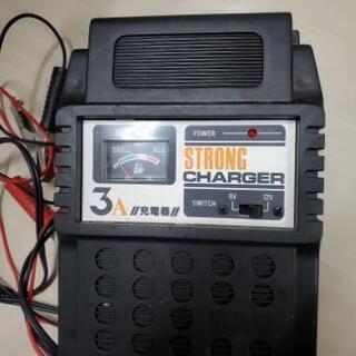 車 バイク用バッテリー充電器