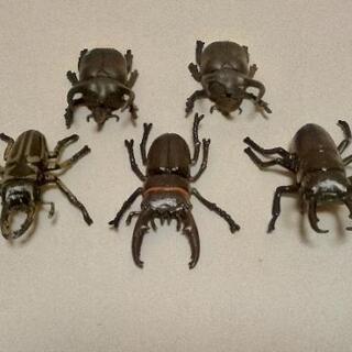 昆虫フィギュア(5匹セット)