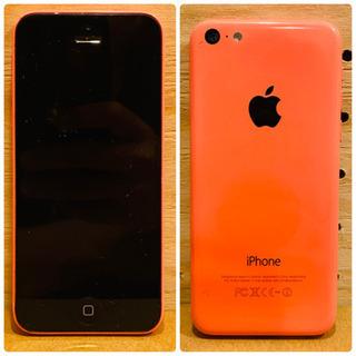 【動作確認済】iPhone 5c 32GB ピンク