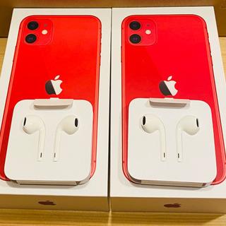 iPhone純正イヤホン iPhone 11付属 新品未使用2セット