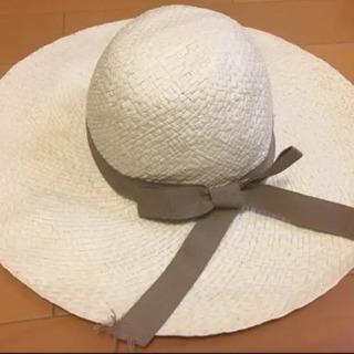 【イタリア製】Santelli Francesca  麦わら帽子