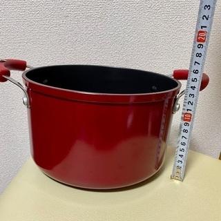 マイヤーの深型両手鍋(蓋付き)