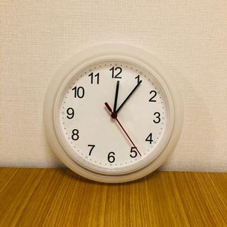 掛け時計/IKEA/直径約24.5cm【5/17午前中に受け取れ...