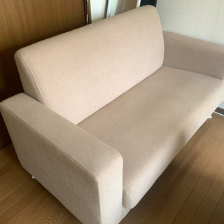 【成立済】ベージュのソファです