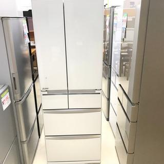 17年式 MITSUBISHI 三菱 6ドア 冷蔵庫 MR-WX...