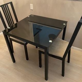 ガラステーブル(受取者が約束場に現れなかったので再出品しま…