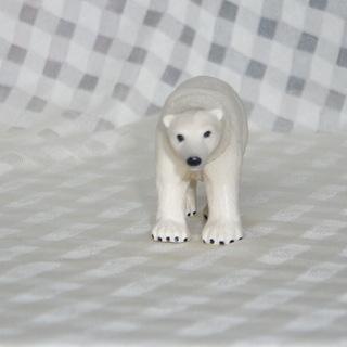 しろくま 首が回る フィギュア 白熊 人形 リアル TOMY ス...