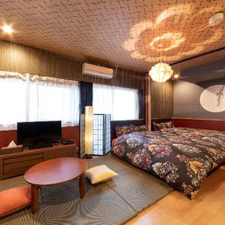 日本和室*長期滞在にも最適!!布団&ベッド畳両方楽しめる*ドンキ...