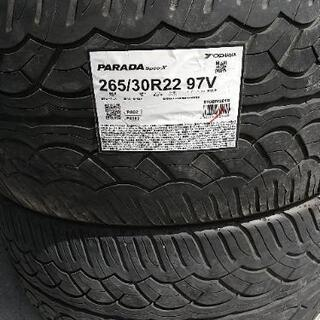 サマータイヤ 265/30R22  ヨコハマ パラダ スペック ...