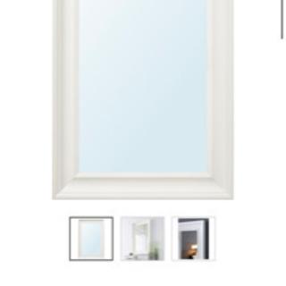 取引中 HEMNES ヘムネス IKEA イケア 鏡 【無料】