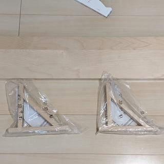 IKEA棚板(EKBY JARPEN)とブラケット(EKBY V...