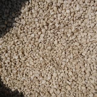 敷石 砂利 【白】  1袋15kgで7袋セット ガーデニング 極小 石