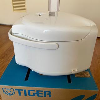 TIGER マイコン炊飯ジャー 3合だき - 売ります・あげます