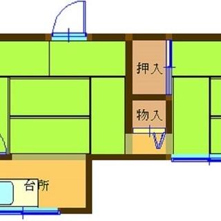 新小岩9分 シャワーとエアコンを新設しました 広い広い 昭和アパート