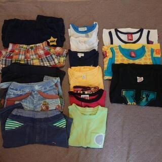 男の子 夏服 サイズ90 全部で14点