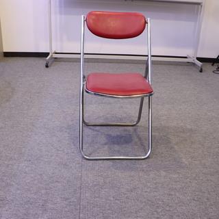 パイプイス 折り畳み 椅子 5脚セット