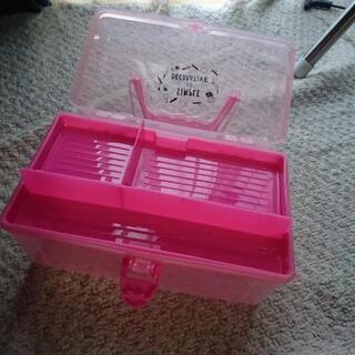 【新品未使用】ピンクのクリアケース