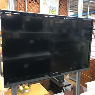 シャープ 壁掛け 液晶テレビ 40型 中古