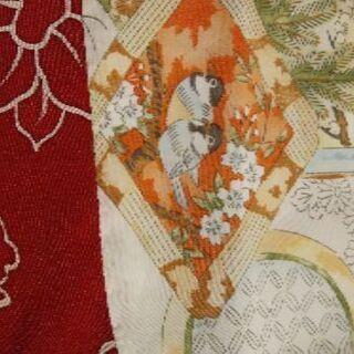正絹の留袖や振袖の派手な模様の部分譲って下さい