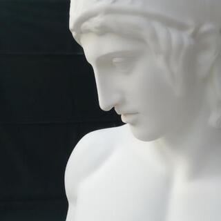 石膏像 マルス 胸像 デッサン 美大受験