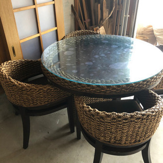 アジアン ダイニングテーブル 輸入家具
