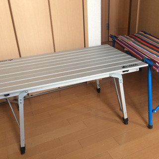 ロゴス アウトドア テーブルチェアセット