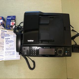 ブラザー FAX 電話 コピー機 インク付き