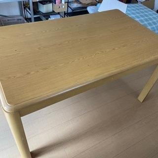 コタツ付きハイテーブル