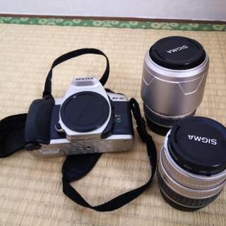 【【値下げ!!】】Pentax mz-30 カメラ一式