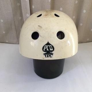 プロテック ヘルメット 黄ばみ強め インナー破損