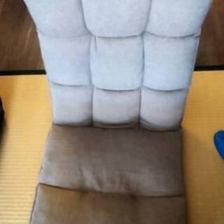 座椅子 リクライニング 普通サイズ