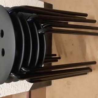 IKEA 丸椅子 スタッキング イケア 5脚セット