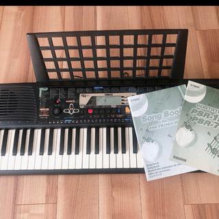 【説明書、楽譜、カバー付き】YAMAHAキーボード