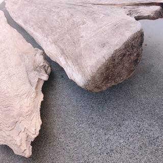 流木 看板やハンドメイドベンチ等に使えます