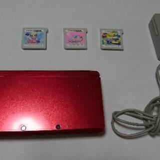 任天堂3DS本体+ソフト3種類