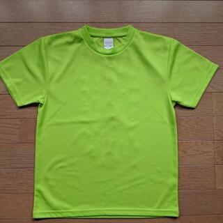 テニス Tシャツ(蛍光グリーン?) - 青森市