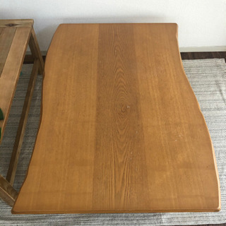 【一枚板風】北欧 ダイニングテーブル 木材