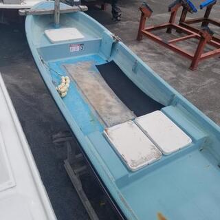 FRP和船。ボート。全長6、6m幅1、7m ホンダ4サイクル30...