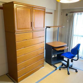 ラックと椅子,タンス 5千円進呈