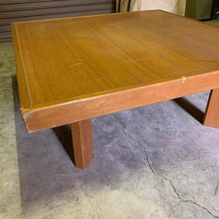 再々値下げ 木製正方形オーダーメイドテーブル