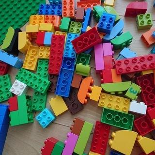 LEGO duplo 緑のコンテナ・基礎版・車 まとめて