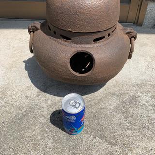 骨盤、鉄の茶釜