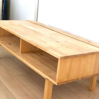 IKEA 木製 テレビ台 - 家具
