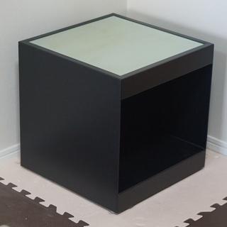 【無料に変更!】【フランフラン】サイドテーブル・ガラス天板…