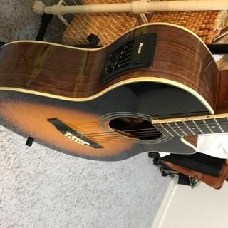モーリスのエレキアコースティックギター エレアコ
