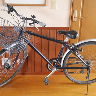 TSUNODA自転車 26インチ 7段切替 オートライト
