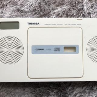 [SOLD OUT]東芝 CDラジオ